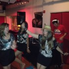 Private dance party for load-out after the show w/ Hash Ketchum. (The Dunes, Washington, DC, 8/24/12)